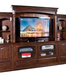 ENTERTAINMENT <h2>6 PIECE SANTA FE WALL UNIT</h2>
