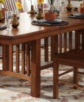 TABLE <h2>Laurelhurst Trestle Table - Mission Oak</h2>