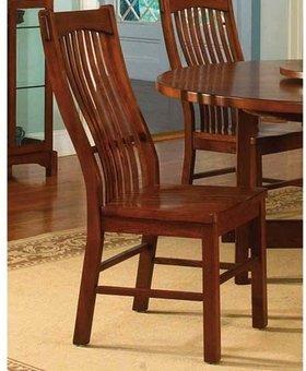 CHAIR <h2>Laurelhurst Slat Side Chair - Mission Oak</h2>