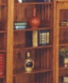 """BOOKCASE MISSION CHERRY 60"""" BOOKCASE"""