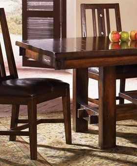 DINING MESA RUSTICA SLAT SIDE CHAIR