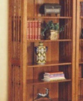 BOOKCASE <h2>MISSION CHERRY BOOKCASE</h2>