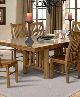 DINING LAURELHURST TABLE & 6 CHAIRS