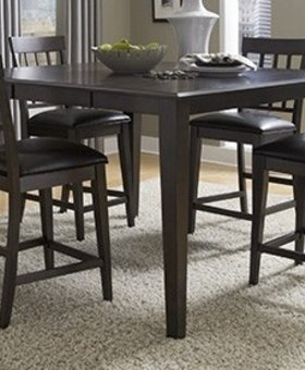 DINING <h2>Bristol Point - Warm Gray Gather Height Leg Table</h2>