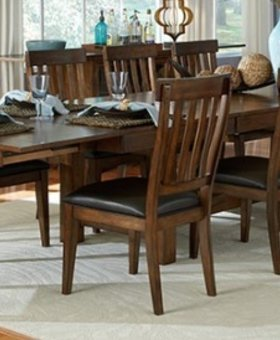 DINING MARIPOSA TRI BUTTERFLY LEAF TABLE MANGO