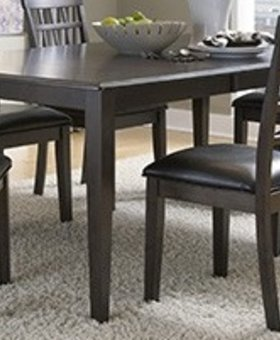 DINING BRISTOL POINT WARM GREY BUTTERFLY LEG TABLE