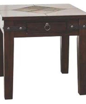 ENTERTAINMENT SANTA FE END TABLE
