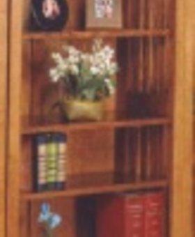 """BOOKCASE 72"""" MISSION BOOKCASE"""