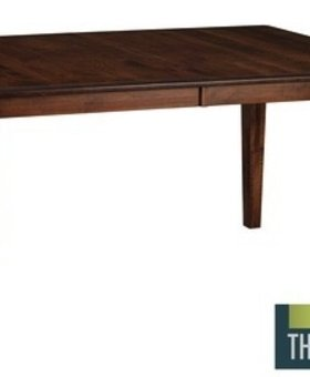 DINING AMISH CLASSIC SOLID BROWN MAPLE TABLE