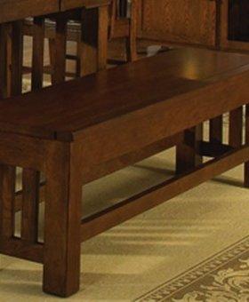 DINING <h2>Laurelhurst Storage Bench - Mission Oak</h2>