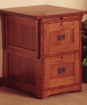 FILE CABINET MISSION CHERRY FILE CABINET