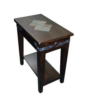 ENTERTAINMENT SANTA FE CHAIRSIDE TABLE