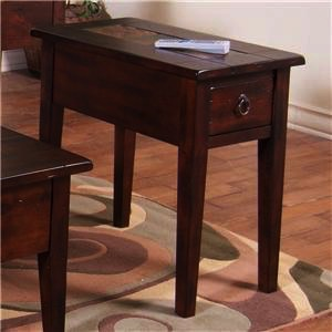 OCCASIONAL TABLE SANTA FE CHAIRSIDE TABLE