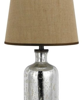 LIGHTING MALIBU GLASS TABLE LAMP 150W