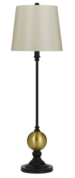 LIGHTING HURON METAL BUFFET LAMP 60W