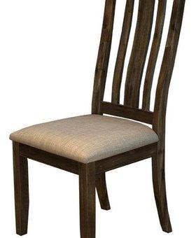 DINING DAWSON SLATBACK UPHOLSTERED SEAT CHAIR
