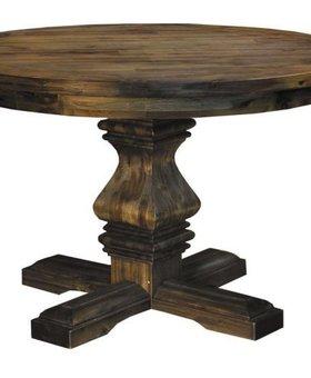 """DINING 48"""" DAWSON ROUND PEDESTAL TABLE"""
