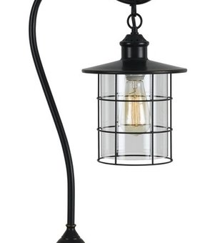 LIGHTING SILVERTON METAL DESK LAMP