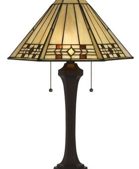 LIGHTING TIFFANY TABLE LAMP