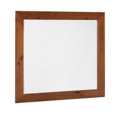 "BEDROOM VICTOR 48"" MIRROR  RUSTIC CHERRY-DISTRESSED SPECIALITY STAIN #74 RUSTIC BOURBON FINISH"