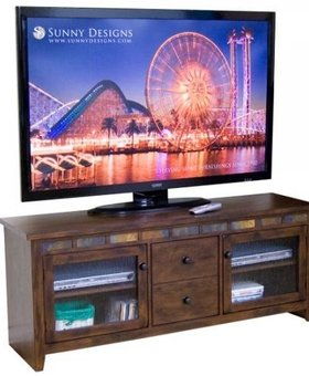 "ENTERTAINMENT OXFORD 62"" TV CONSOLE"