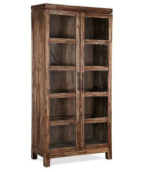 "OFFICE 80"" ADLER DOOR BOOKCASE"