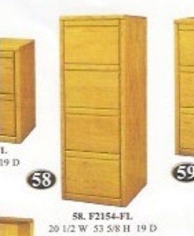 FILE CABINET 4 DRAWER CONTEMPORARY FILE CABINET