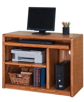 OFFICE CONTEMPORARY DELUXE COMPUTER CART W/ CASTERS