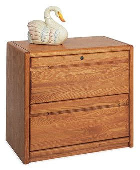 FILE CABINET CONTEMPORARY LATERAL FILE 2 DRAWER