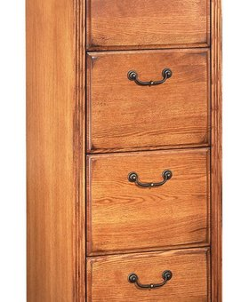OFFICE HUNTINGTON 4 DRAWER FILE WHEAT