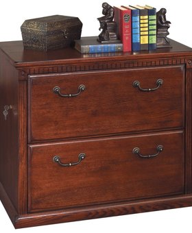 FILE CABINET HUNTINGTON LATERAL FILE BURNISHED