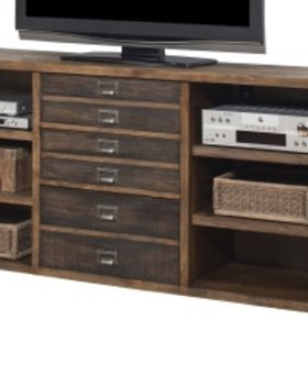 """OFFICE 70"""" HERITAGE CREDENZA OR CONSOLE WITH STORAGE"""
