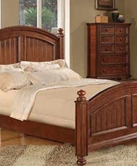 BEDROOM CAPE COD FULL BED CHOCOLATE FINISH