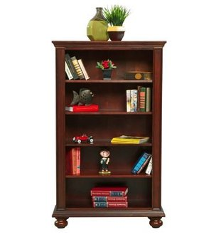 "BOOKCASE 36"" CAPE COD BOOKCASE CHOCOLATE"