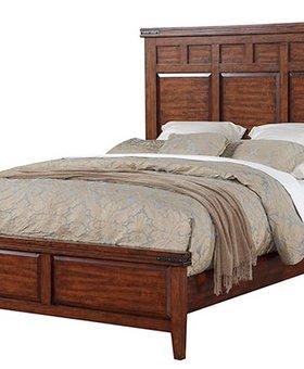 BEDROOM <h2>MANGO KING PANEL BED</h2>