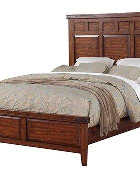 BEDROOM <h2>QUEEN MANGO PANEL BED</h2>