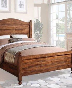 BEDROOM <h2>Quails Run Acacia King Size Panel Bed</h2>