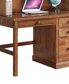 "BEDROOM 46"" DESK ACACIA WOOD"