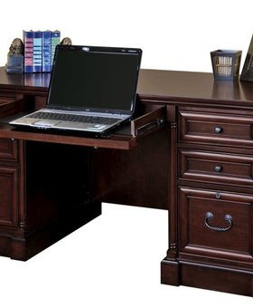 OFFICE MOUNT VIEW DOUBLE PEDESTAL DESK
