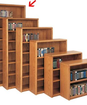 "BOOKCASE <h2>CONTEMPORARY 84"" BOOKCASE</h2>"