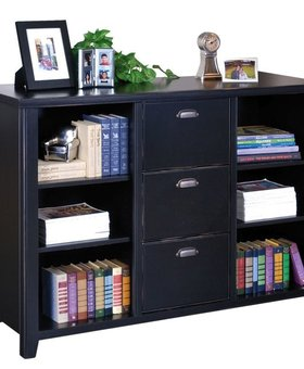 <h2>TRIBECA LOFT 3 DRAWER FILE/BOOKCASE</h2>