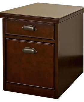 FILE CABINET <h2>TRIBECA LOFT CHERRY ROLLING FILE CABINET</h2>
