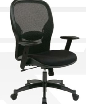OFFICE <h2>MESH BACK OFFICE CHAIR WITH MESH SEAT</h2>