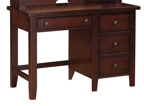 "OFFICE 44"" VINTAGE WRINTING DESK IN CHERRY FINISH"