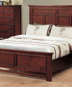 BEDROOM WILLOW CREEK QUEEN PANEL BED