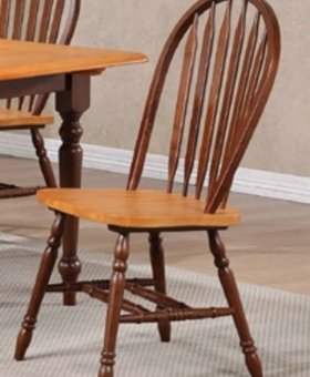 CHAIR FRUITWOOD ARROWBACK SIDE CHAIRS