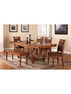 DINING <h2>GRAND ESTATE PEDESTAL TABLE DINING SET</h2>