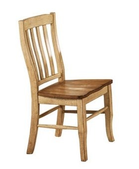 OFFICE <h2>RACK BACK SIDE CHAIR SOLID ACACIA WOOD</h2>
