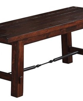 "DINING <h2>RETREAT 48"" BENCH</h2>"