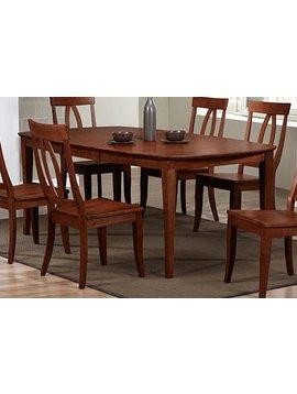 "DINING 78"" SANTA BARBARA LEG TABLE CHESTNUT FINISH"